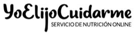Yo elijo cuidarme - Servicio de nutrición Online