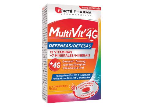 Multivit 4G Defensas