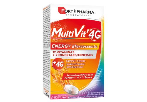 Multivit 4G Energy Efervescente