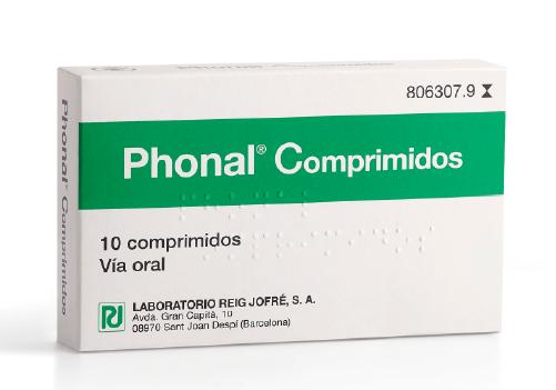 Phonal Comprimidos