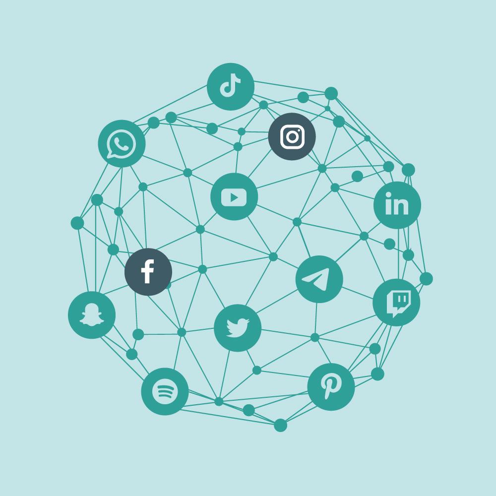 Conexión redes sociales